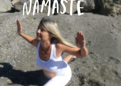 Namasteyogabildstrand